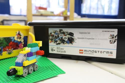 Image d'une boite de Lego Mindstorm