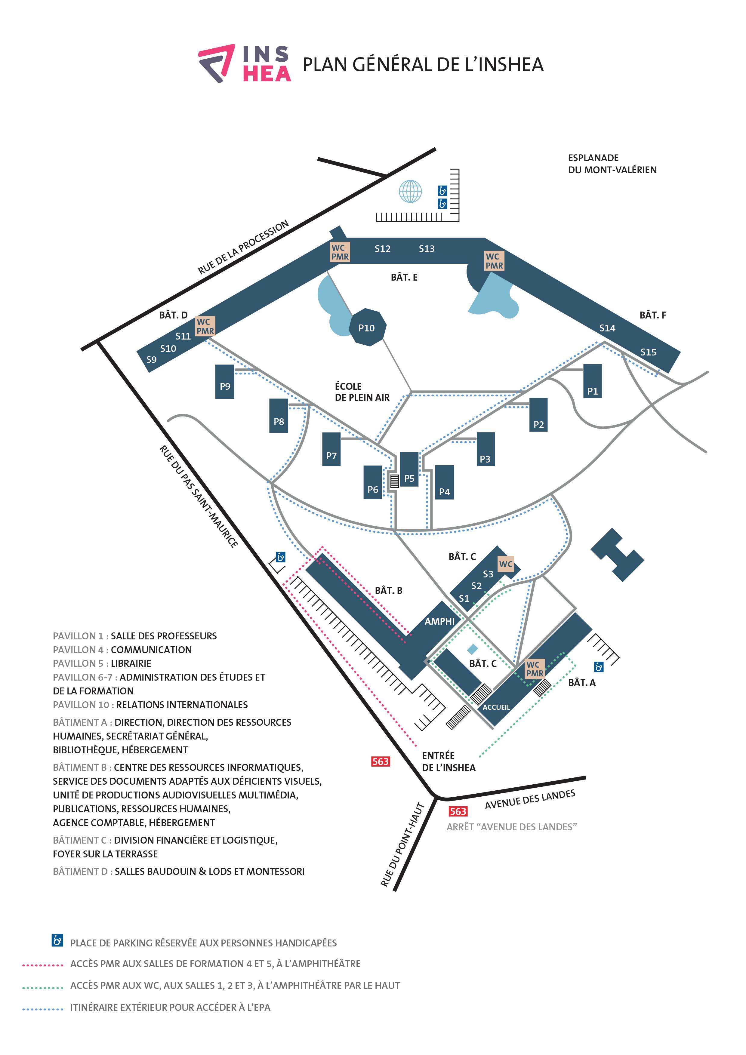 Plan du campus (.pdf, 695 Ko)