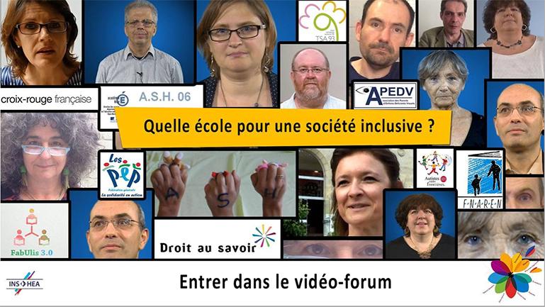 Entrer dans le vidéo forum