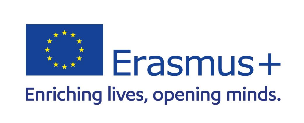 Logo Erasmus +, enriching lives, opening minds.