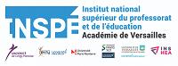 Inspé : Institut national supérieur du professorat et de l'éducation. Académie de Versailles. Université Cergy Pontoise, Université Evry, Université Paris Sud, Université de Versailles, INSHEA.