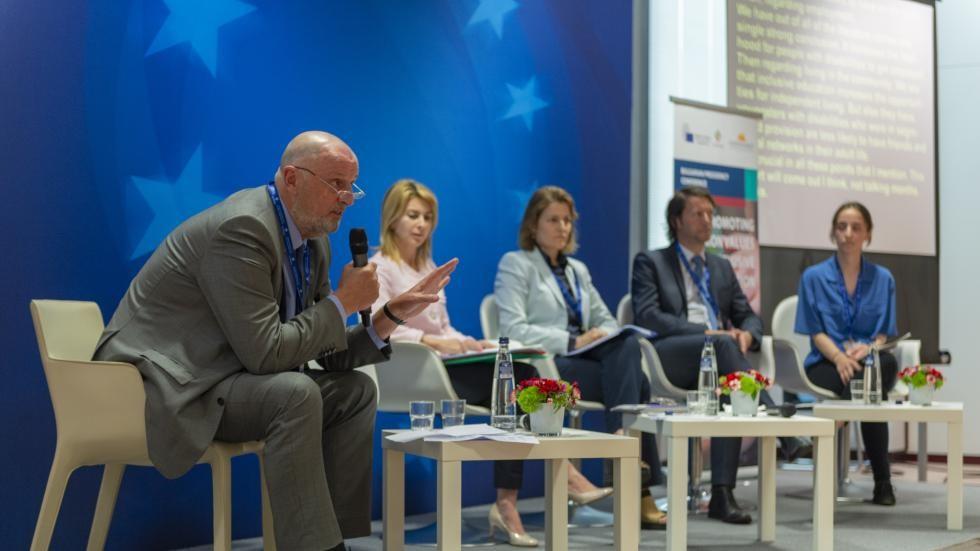 Photo du séminaire de l'Agence Européenne