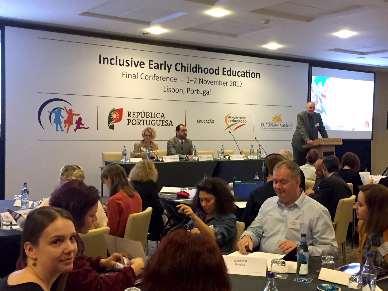 Image de la conférence sur le projet IECE