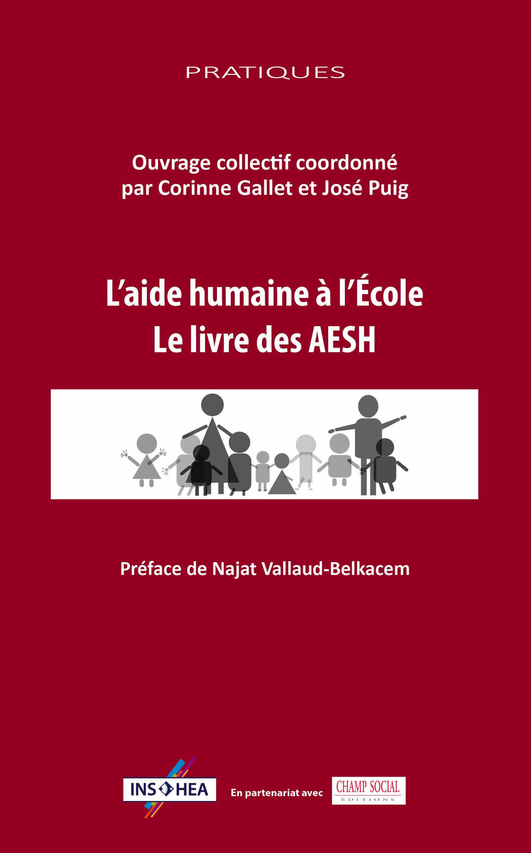 image L'aide humaine à l'Ecole le livre des AESH