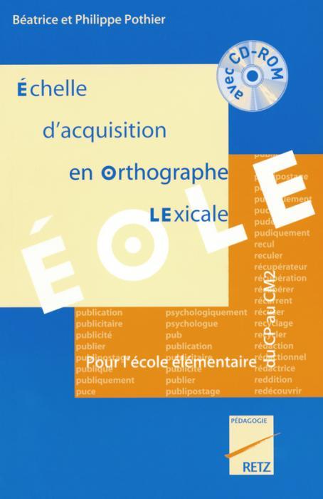 image Echelle d'acquisition en Orthographe LExicale