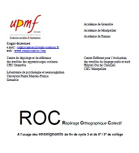 image Repérage Orthographique Collectif 2006