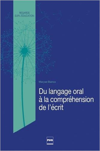 image Du langage oral à la compréhension de l'écrit