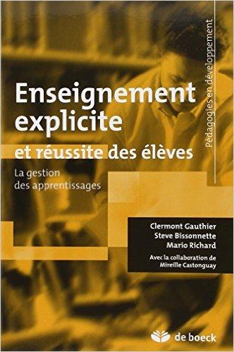 image L'enseignement explicite