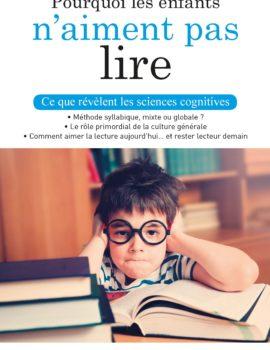 image Pourquoi les enfants n'aiment pas lire ?