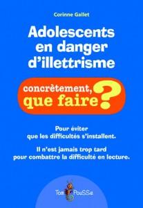 image Adolescents en danger d'illettrisme