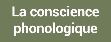 La consicence phonologique