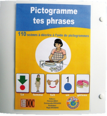 image Pictogramme tes phrases