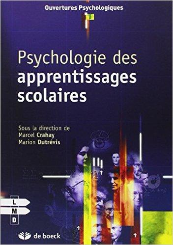image La psychologie des apprentissages scolaires