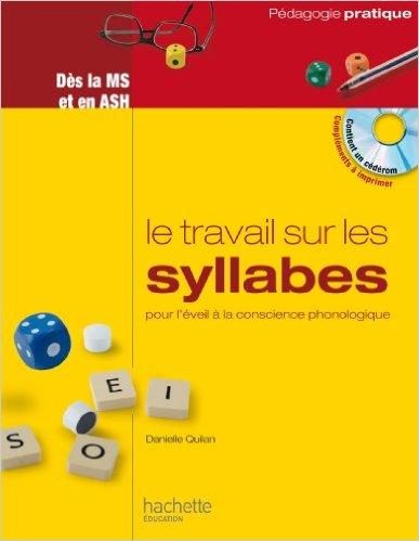 image Le travail sur les syllabes pour l'éveil à la conscience phonologique
