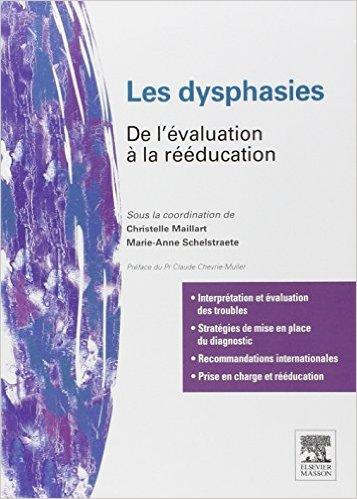 image Les dysphasies : de l'évaluation à la rééducation