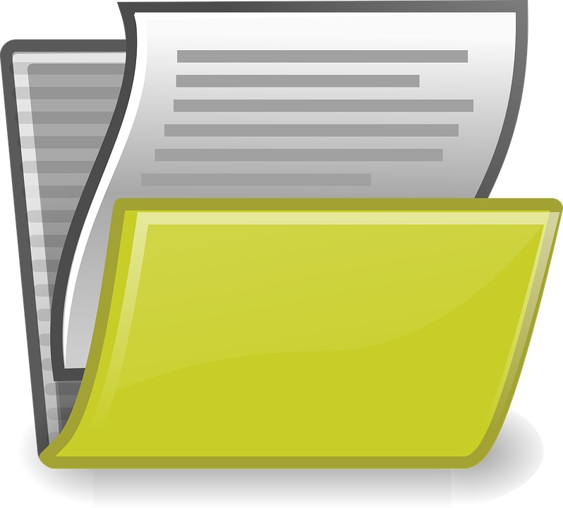 dossier de documents