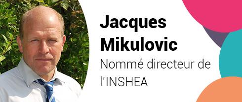 Jacques Mikulovic, nommé directeur de l'INSHEA