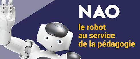 Nao, le robot au service de la pédagogie.