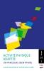 Couverture de l'ouvrage  «Activité physique adaptée: un parcours identitaire»