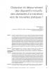 Première page de l'article d'Hervé Benoit publié dans la Nras 61
