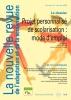 Couverture de La nouvelle revue de l'adaptation et de la scolarisation, n°44