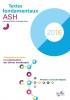 Jaquette du cédérom «Textes fondamentaux pour l'ASH», édition 2016