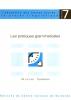 """Couverture de l'ouvrage """"Les pratiques grammaticales"""""""