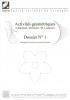 """Couverture de l'ouvrage """"Activités géométriques n° 1"""", illustrée de formes géométriques."""