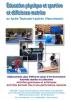 """Jaquette du film """"Éducation physique et sportive et déficience motrice au lycée Toulouse-Lautrec (Vaucresson)"""", illustrée par plusieurs photos d'élèves pratiquant plusieurs sports."""
