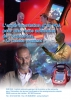"""Jaquette du film """"L'expérimentation d'un PDA pour une visite autonome de l'exposition """"Le Canada vraiment"""""""", illustrée par trois photos d'un utilisateur de Palm."""