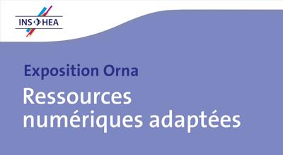 """Exposition Orna """"Ressources numériques adaptées"""""""