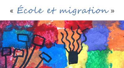 """image """"école et migration"""""""