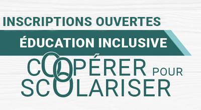 Vignette Inscription colloque Éducation inclusive : coopérer pour scolariser