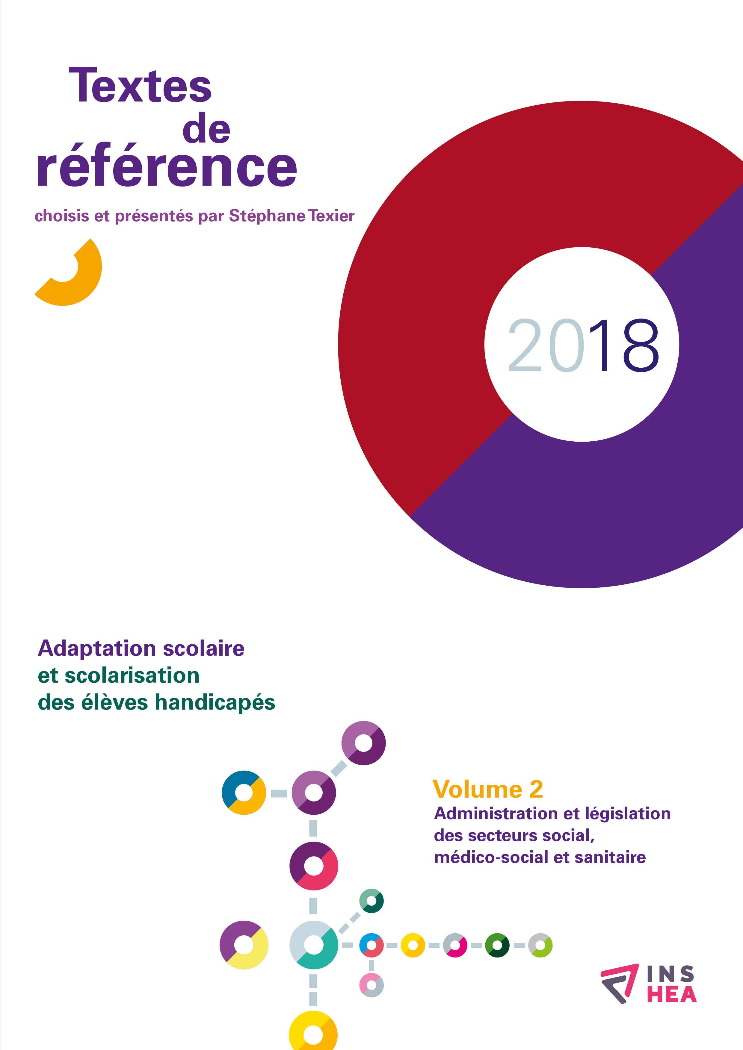 Couverture des Textes de référence 2018, volume 2