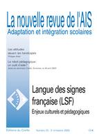 Couverture de La nouvelle revue de l'AIS, n°23