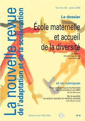 Couverture de La nouvelle revue de l'adaptation et de la scolarisation, n°46