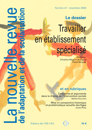 Couverture de La nouvelle revue de l'adaptation et de la scolarisation, n°47