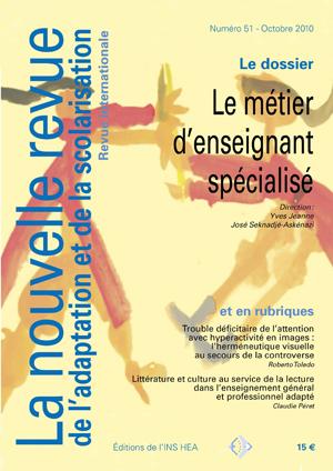 Couverture de La nouvelle revue de l'adaptation et de la scolarisation, n°51