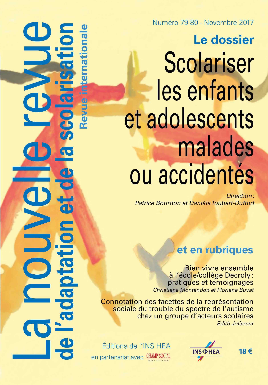 Couverture de La nouvelle revue de l'adaptation et de la scolarisation numéro 79-80