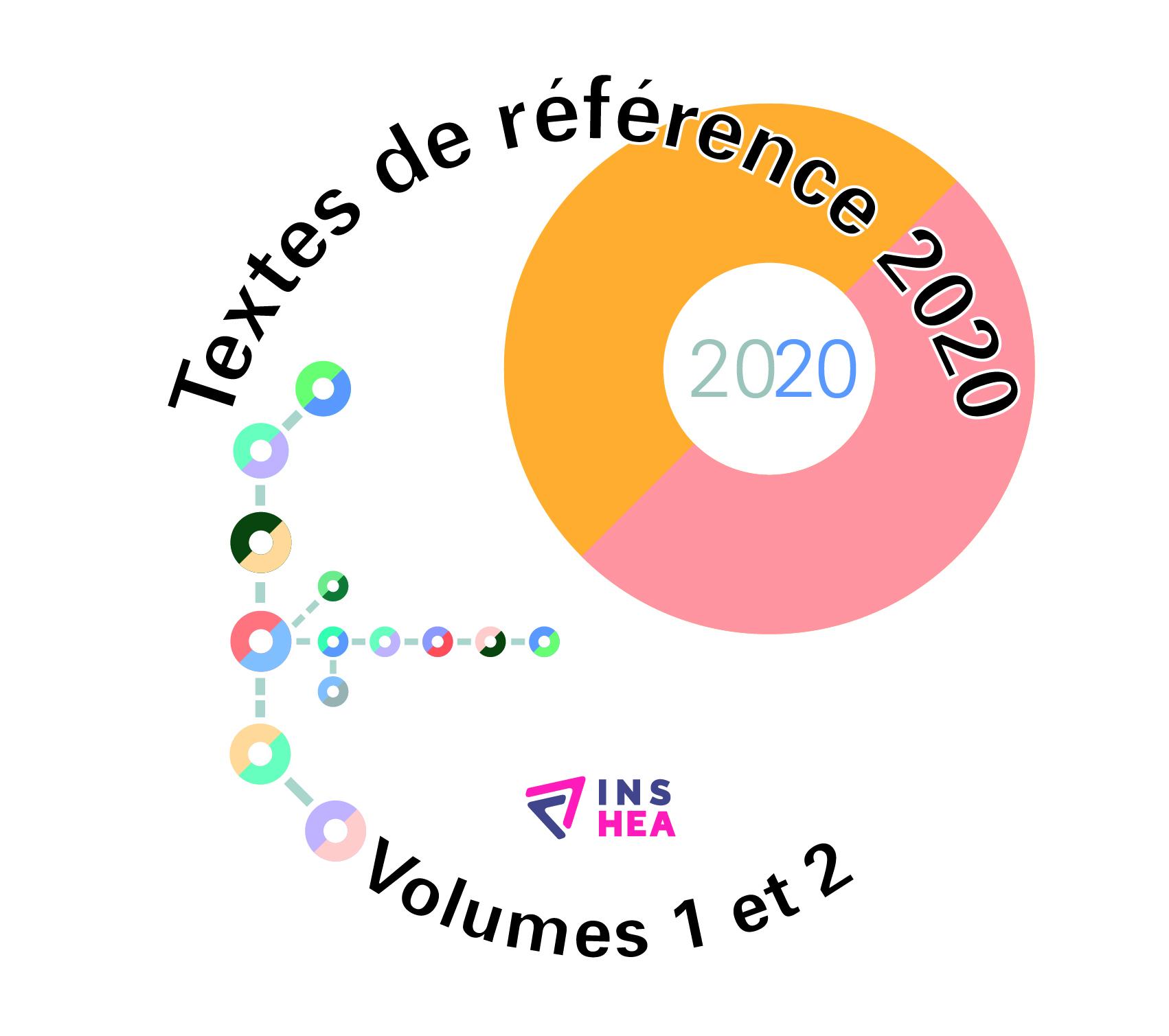 Jaquette du cédérom des textes de référence 2020