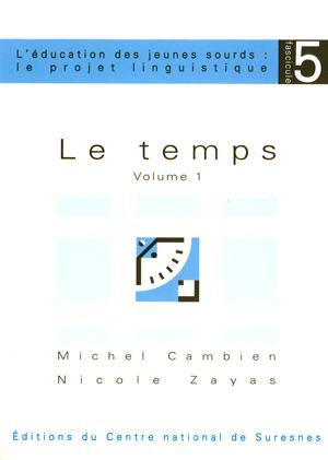 """Couverture de l'ouvrage """"Le temps"""""""