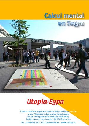"""Jaquette du film """"Calcul mental en Segpa"""" illustrée par des collégiens dans un établissement."""