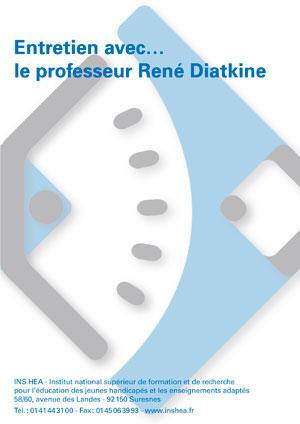 """Jaquette du film """"Entretien avec René Diatkine"""" sans visuel"""