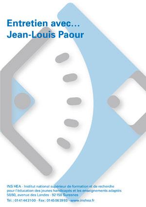 """Jaquette du film """"Entretien avec Jean-Louis Paour"""". Sans visuel."""