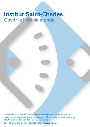 """Jaquette du film """"Institut Saint-Charles : Ouvrir le livre du monde aux dyslexiques"""" sans visuel"""