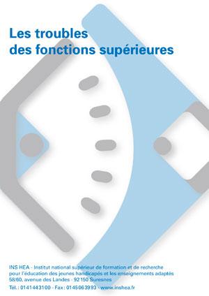 """Jaquette du film """"Les troubles des fonctions supérieures"""". Pas de visuel"""