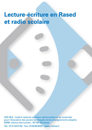 """Jaquette du film """"Lecture-écriture en Rased et radio scolaire"""". Sans visuel"""