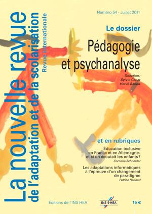 Couverture de La nouvelle revue de l'adaptation et de la scolarisation, n°54
