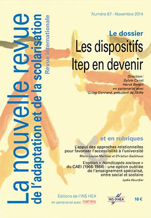 Couverture de La nouvelle revue de l'adaptation et de la scolarisation n°67