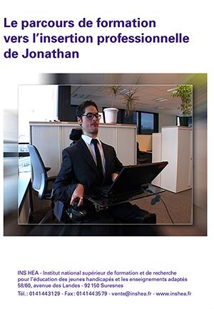 """Jaquette du film """"Le parcours de formation vers l'insertion professionnelle de Jonathan"""""""